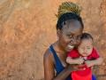 Tamires, sua primeira foto como mãe - Comunidade Mandela 2017 - foto Fabiana_Ribeiro.