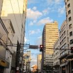Avenida Francisco Glicério, eixo principal no centro de Campinas (Foto José Pedro Martins)