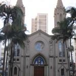 Basílica do Carmo, construída no local onde nasceu Campinas (Foto José Pedro Martins)