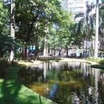 Praça Carlos Gomes, mais uma vez palco de saborosa comunhão de afetos (Foto José Pedro Martins)