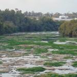 Garantir a disponibilidade e gestão sustentável da água e saneamento para todos (o que não tem sido praticado por exemplo em relação ao rio Piracicaba, na foto do final de agosto): um dos prováveis ODS pós-2015