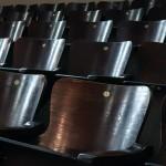 Parte das cadeiras do auditório do Centro de Ciências Letras e Artes, que comemora 113 anos hoje, é derivada do antigo Teatro Municipal de Campinas (Fotos Martinho Caires)