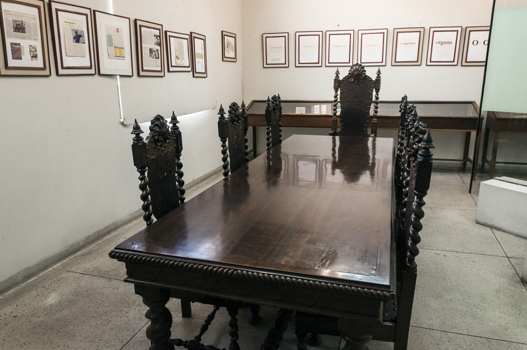 Sala de leitura do CCLA, um ícone da cultura em Campinas e no Brasil