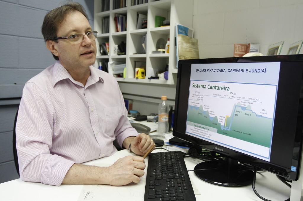 Professor Dr.Antonio Carlos Zuffo, da Unicamp: risco existe também para região de Campinas
