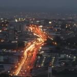 Campinas à noite: cidade vai sediar Instituto Brasileiro de Ecomobilidade (Foto Adriano Rosa)
