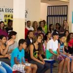 Os alunos participaram ativamente das apresentações durante a Feira (Fotos Divulgação)