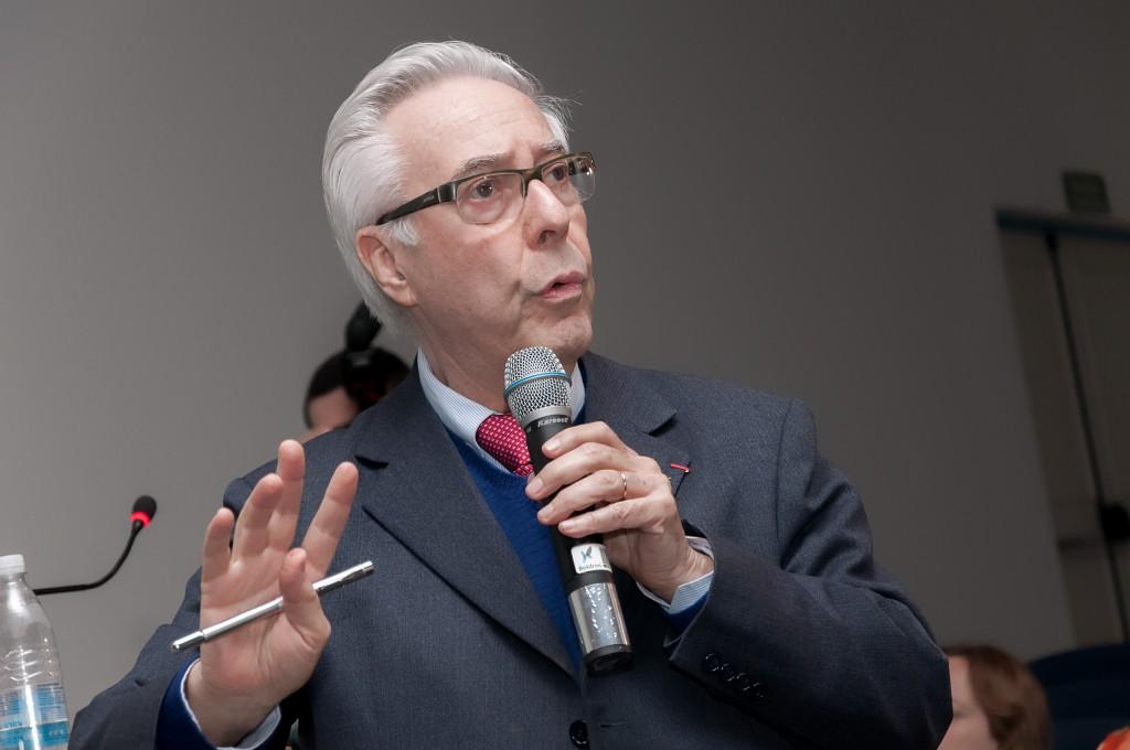 """Dr.Paulo Affonso Leme Machado: """"A omissão é das pessoas e dos poderes constituídos"""" (Foto Martinho Caires)"""