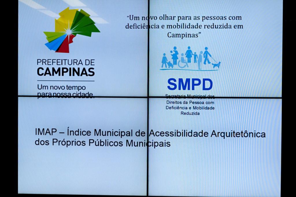 Indicador será divulgado anualmente, para verificação da evolução da acessibilidade em prédios públicos municipais