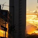 Temperatura em Campinas superou 34 graus neste sábado, mas a sensação foi de bem mais (Foto José Pedro Martins)