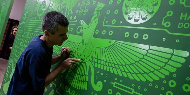 Circuitos, a instalação de Ricardo Cruzeiro que propõe a busca da harmonia perdida