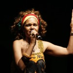 Ilcéi Mirian: pela defesa da cultura negra (Foto Adriano Rosa)
