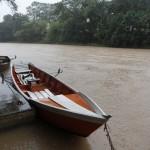 Rio Atibaia voltou a encher com chuvas intensas desta segunda-feira
