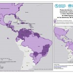 Distribuição de casos de Chikungunya nas Américas segundo a OPAS