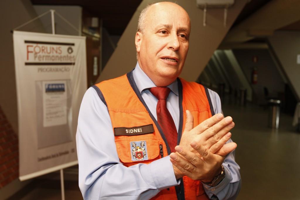 Sidnei Fernandes: seguros para continuidade de negócios pós-eventos extremos (Foto Adriano Rosa)