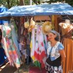 Lili do Forró, alegria e amor à arte na feira do Centro de Convivência (Fotos José Pedro Martins)