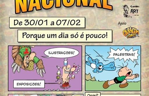 Campinas será capital nacional dos quadrinhos a partir de 30 de janeiro