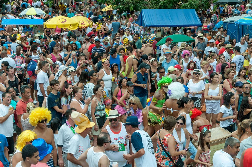 A multidão que invadiu o Centro de Convivência, no Cambuí, em 2015 (Foto Martinho Caires)