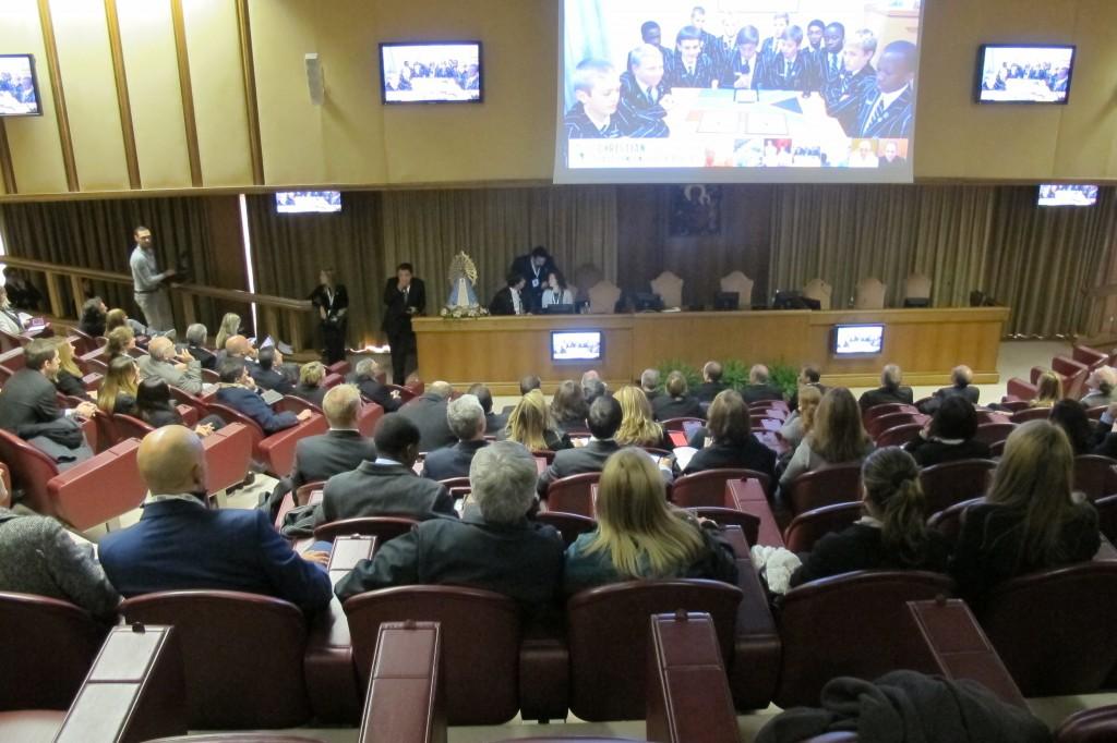 Congresso reúne participantes de mais de 40 países (Foto Divulgação Scholas Occurrentes)