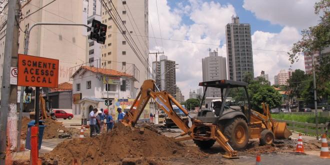 Começam obras na Glicério: o novo centro de Campinas