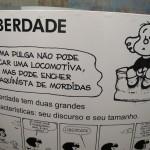 Mafalda e seus amigos encantam pela irreverência e diversidade (Fotos José Pedro Martins)