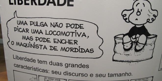 """Exposição """"O mundo segundo Mafalda"""" continua até 28 de fevereiro"""