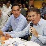 Prefeito Jonas Donizette afirma em Holambra que região de Campinas buscará maior participação no processo de renovação da outorga do Cantareira (Foto Adriano Rosa)