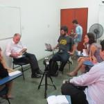 O presidente da ANA participou em Campinas de um diálogo com vários veículos da mídia independente (Fotos José Pedro Martins)