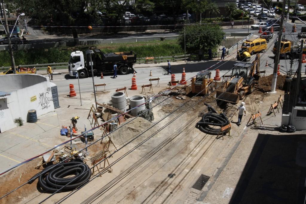 Obras já estão mexendo com o trânsito na região central de Campinas