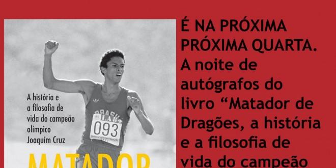 Biografia de Joaquim Cruz será lançada nesta quarta em Campinas