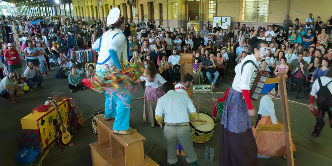 Presepadas de Damião e Bazar ocupam a Estação Cultura em Campinas