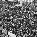 Manifestação no centro de Campinas em 20 de junho de 2013 (Foto Adriano Rosa)