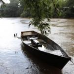 Alta vazão no rio Atibaia em Sousas (Fotos Adriano Rosa)