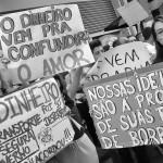 Manifestação em junho de 2013 no Brasil: sementes lançadas na década de 1960 (Foto Martinho Caires)