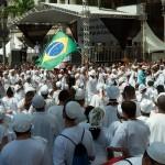 Comunidades das religiões afro-brasileiras na lavagem das escadarias da Catedral: a forte influência na cultura de Campinas e do Brasil (Foto Martinho Caires)