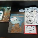 Uma das exposições anteriores de quadrinhos na Biblioteca Municipal, que ajudou a derrubar mitos sobre a África (Foto José Pedro Martins)