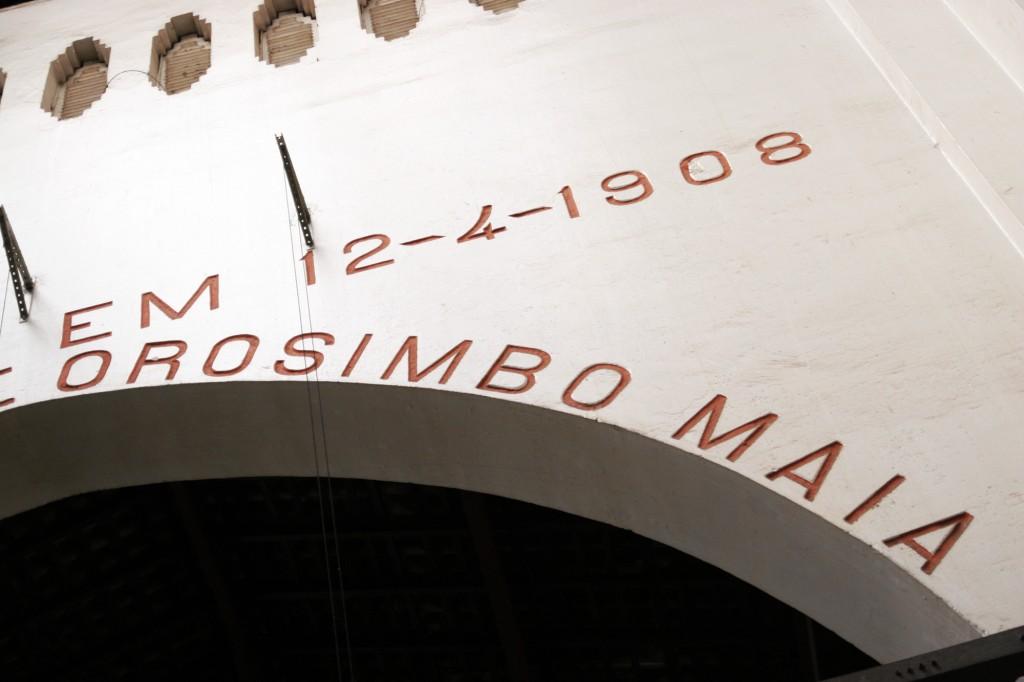 Prédio histórico, que uniu Ramos de Azevedo e Orosimbo Maia