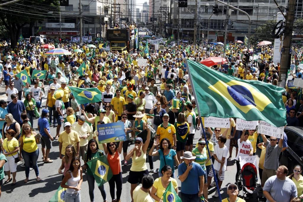 Desta vez houve apenas uma manifestação em Campinas