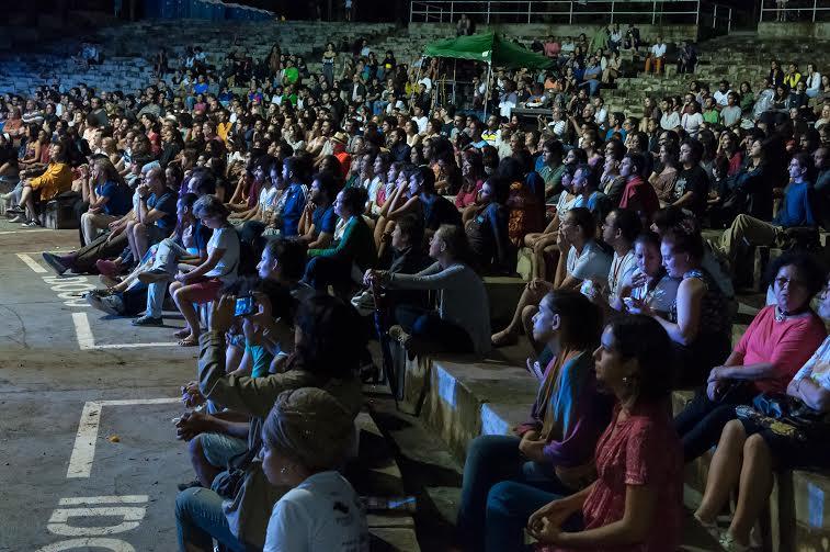 Cerca de mil pessoas foram à Concha Acústica do Taquaral para ouvir choro tocado por professores da Escola Portátil do Rio de Janeiro e a cantora Mônica Salmaso