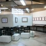 Sala de exposições do Centro de Ciências, Letras e Artes (CCLA), que receberá grande exposição sobre Carlos Gomes (Foto Martinho Caires)