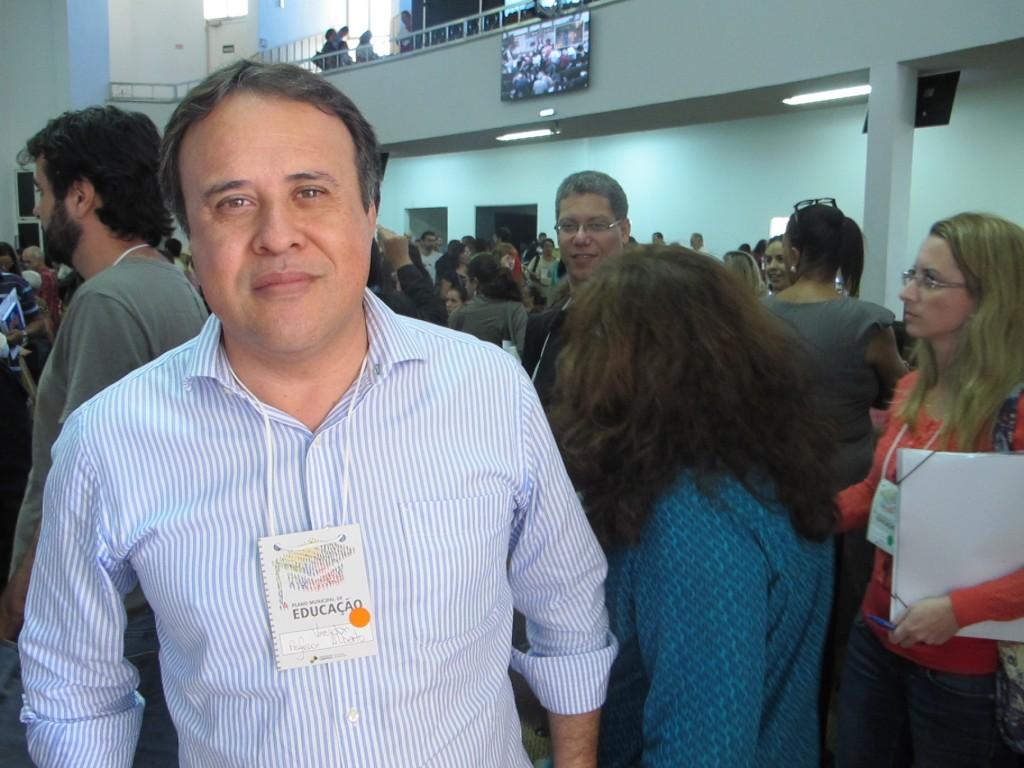 Vereador Professor Alberto sentiu a ausência de maior número de representantes do setor privado e Universidades