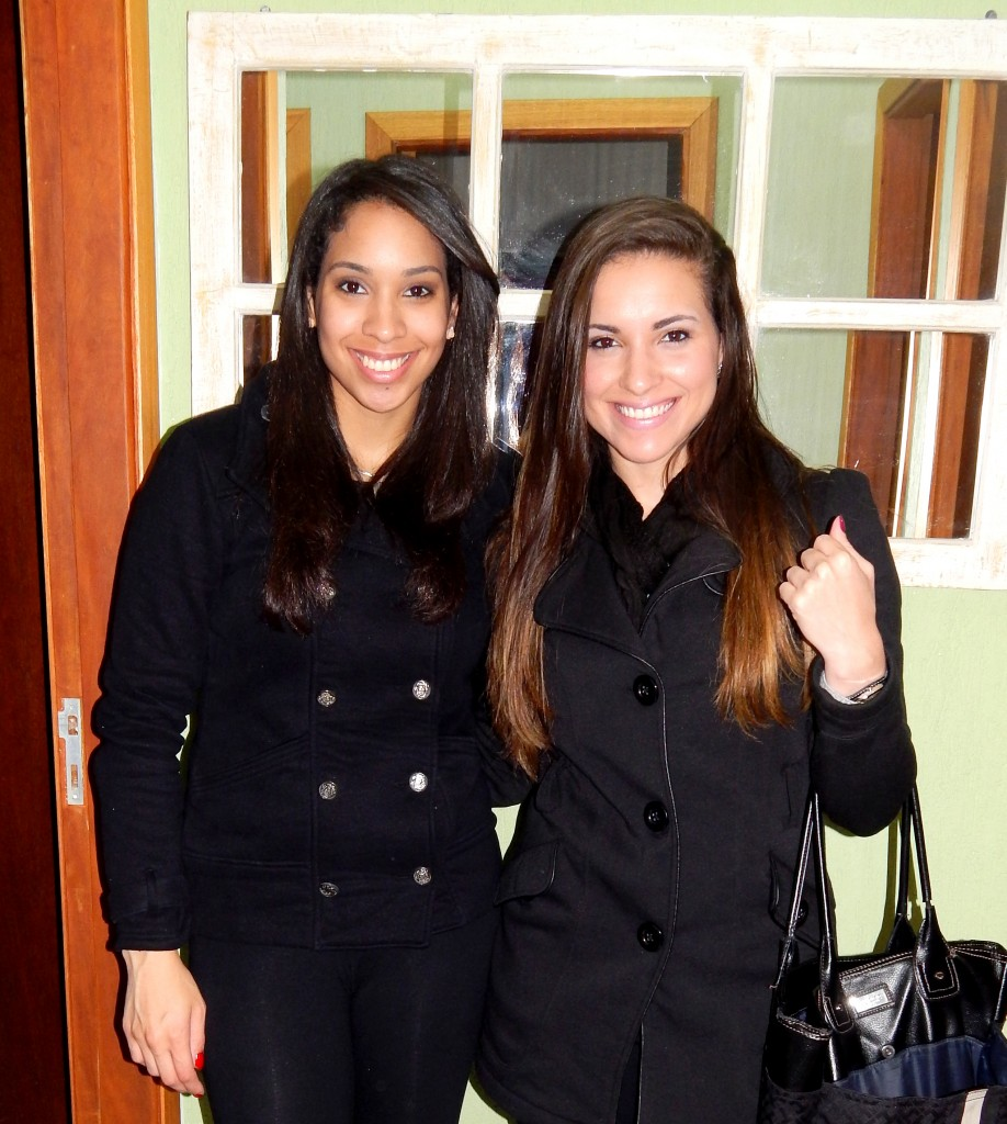 Michele e Caroline: irmãs com trajetórias similares no esporte e nos estudos (Foto Arquivo Pessoal)