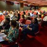 Assembleia do Orçamento Participativo realizada em maio, no Salão Vermelho da Prefeitura de Campinas, quando a Secretaria de Educação apresentou suas ações para as Administrações Regionais (ARs)       Foto: Toninho Oliveira/Prefeitura de Campinas