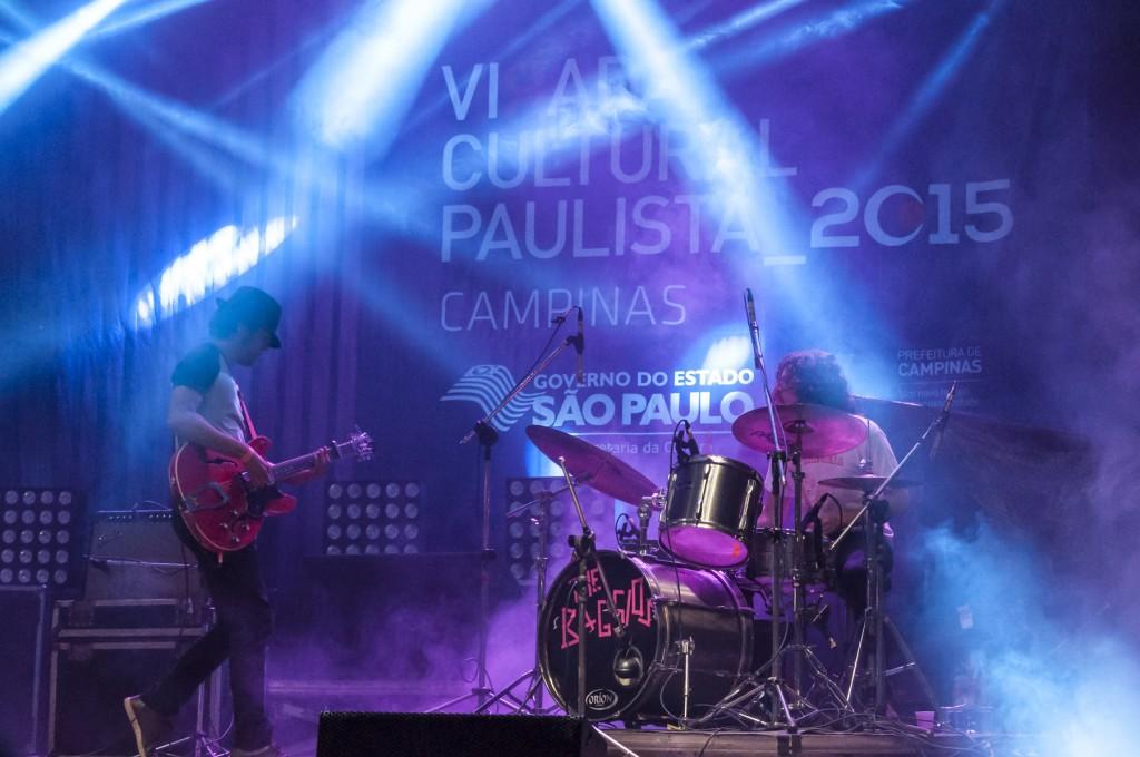 A dupla de rock e blues que manda o seu recado (Foto Martinho Caires)