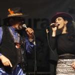 Gerson King Combo e Ieda Cruz fecharam programação de sábado na Estação Cultura (Fotos Adriano Rosa)