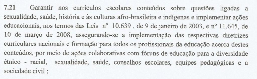 """Texto enviado pelo Executivo à Câmara sobre Plano Municipal de Educação excluiu palavra """"gênero"""" da estratégia 7.21 (Foto Reprodução)"""