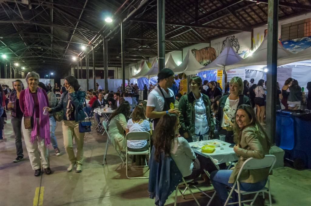 Virada Cultural na Estação Cultura, um dos espaços com agenda intensa na região central (Foto Martinho Caires)