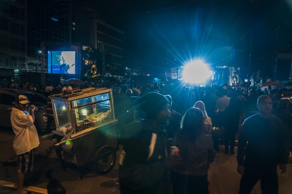 Milhares foram ao Largo do Rosário: ocupar a cidade com arte