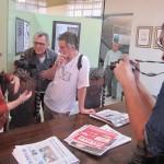 """Abertura da exposição """"65 anos de cinema de arte em Campinas"""" atraiu muitos cinéfilos ao CCLA (Fotos José Pedro Martins)"""