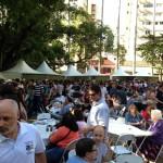 Edição de 2014 levou milhares de pessoas à Praça Carlos Gomes (Foto Martinho Caires)