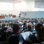 Auditório do Instituto Agronômico ficou lotado no seminário ECA 25 anos (Fotos José Pedro Martins)